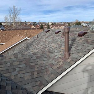 Roof Replacement - After T-Lock hail damage - Briargate