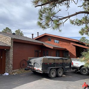 Roof Replacement - After hail damage class 3 Black Forest
