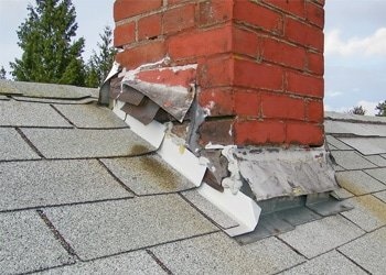 Common Roof Repair - Failed Chimney Flashing