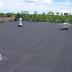 EPDM Roofing on a Commercial Roof in Colorado Springs, CO