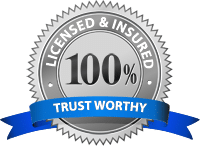 100% Licensed and Insured
